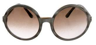 Tom Ford Carrie Marbled Sunglasses
