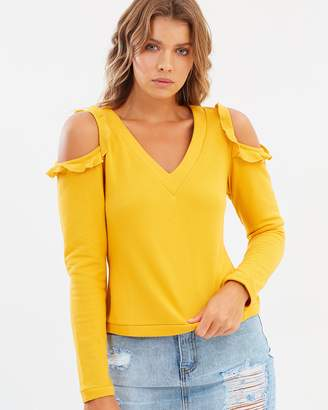 Atmos & Here ICONIC EXCLUSIVE - Chiara Cold Shoulder Top