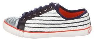 Tory Burch Embossed Low-Top Sneakers