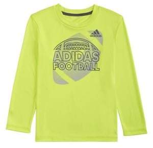 27b716c0 adidas Little Boy's Long-Sleeve Half Ball Sport Tee