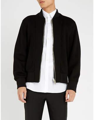 Alexander McQueen Buckled-tab regular-fit cotton shirt