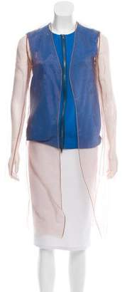 Reed Krakoff Layered Zip-Up Jacket