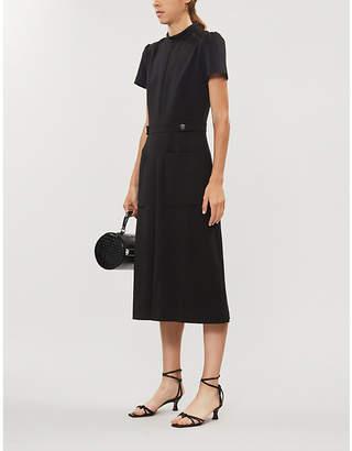BA&SH Coleen stretch-woven midi dress