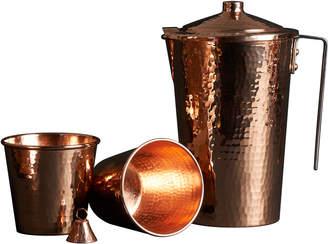 Sertodo Copper Copper Ayurveda Set