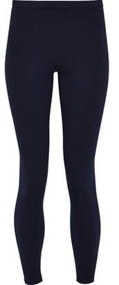 Vince Ribbed Cotton-Blend Leggings