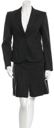 Burberry Pinstripe Wool Suit $155 thestylecure.com