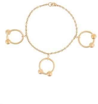 J.W.Anderson ring embellished bracelet