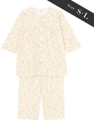 Wing 【お値打ち品パジャマ】綿100%ペイズリー柄 ウイング/ワコール(C)FDB