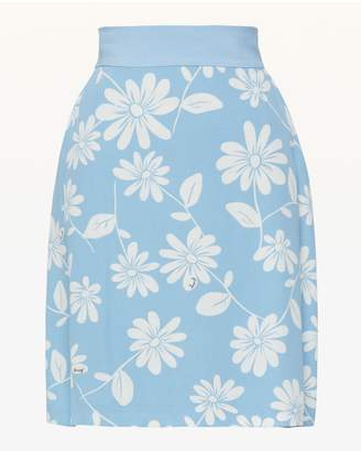Juicy Couture Sketched Daisies Skirt