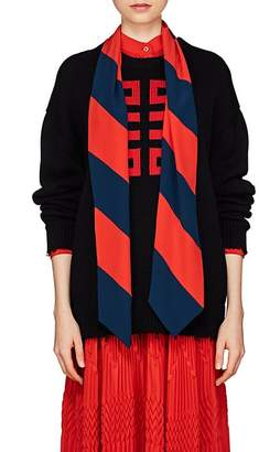 Givenchy Women's Logo Intarsia-Knit Cotton Sweater