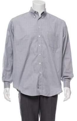 Etro Woven Button-Up Shirt
