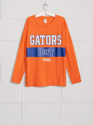 PINK University of Florida Side Snap Tunic Crew