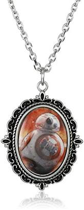 Star Wars Jewelry Episode 7 Steel Cameo Pendant Necklace