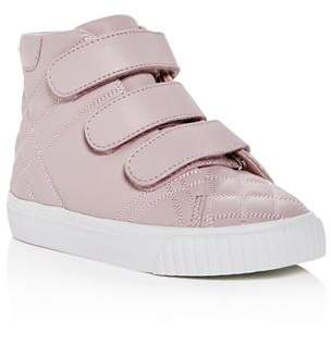 Burberry Girls' Sturrock Quilted Leather Sneakers - Walker, Toddler