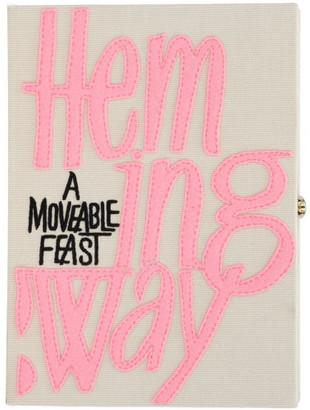 Olympia Le-Tan The Webster x Ritz Paris 'A Moveable Feast' clutch $2,095 thestylecure.com
