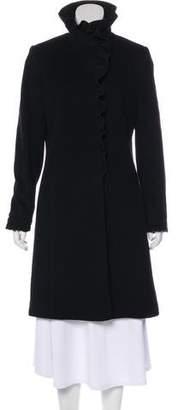 DKNY Wool Knee-Length Coat