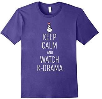 Keep Calm And Watch K-Drama T-Shirt K-Drama Addict Tee