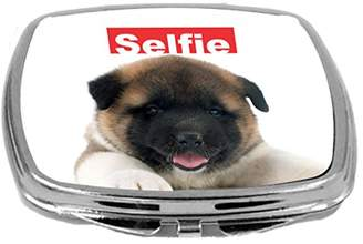 Rikki Knight Dog Design Compact Mirror