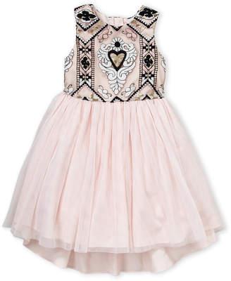 Pippa & Julie (Girls 4-6x) Crested Heart Tutu Dress