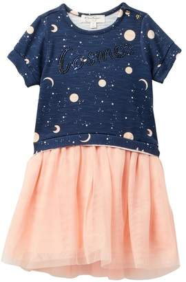 Jessica Simpson Short Sleeve Dress (Toddler & Little Girls)