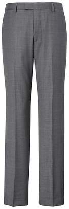 Banana Republic Standard Italian Wool Sharkskin Suit Pant