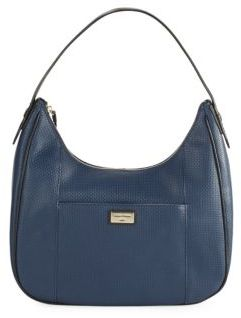 Cole Haan  Cara Textured Leather Hobo Bag