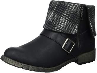 Rocket Dog Women's Bentley Lewis PU/Randy Fabric Ankle Boot