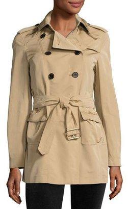 Burberry Risebrook Short Trenchcoat $895 thestylecure.com