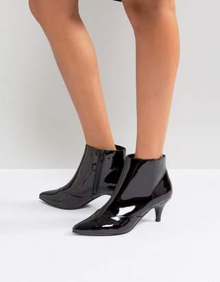 Miss Selfridge Kitten Heel Ankle Boot