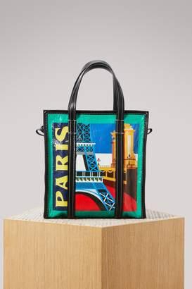 Balenciaga Bazaar Paris small shopper bag
