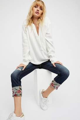 Driftwood Colette Embroidered Jean