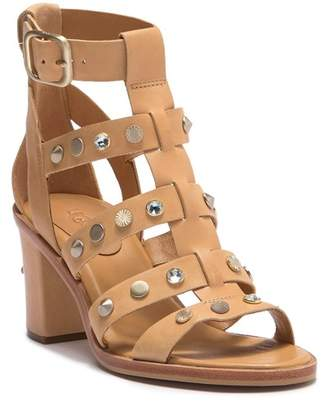 UGG Macayla Studded Bling Block Heel Sandal