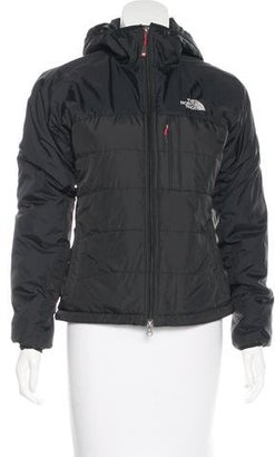 The North Face Hooded Puffer Jacket $145 thestylecure.com