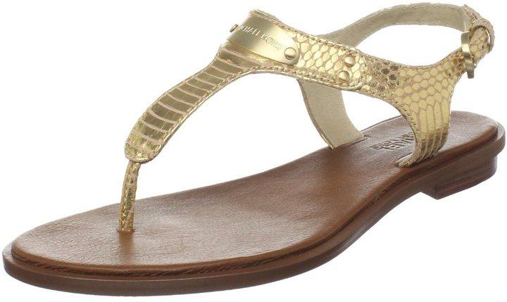 MICHAEL Michael Kors Women's MK Plate Sandal