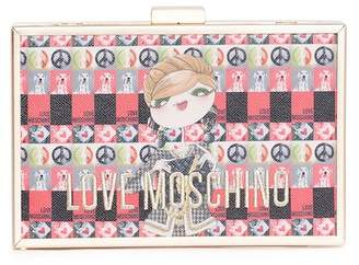 Love Moschino Digital Print Clutch