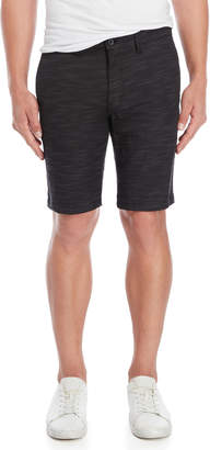 Ocean Current Black Pipeline Shorts