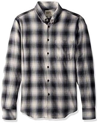 Naked & Famous Denim Men's Regular Shirt-Ombre Flannel