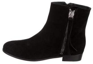 Giuseppe Zanotti Suede Ankle Boots w/ Tags