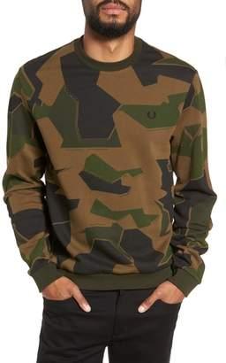 Fred Perry Camoflage Sweatshirt