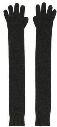 Hermes Cashmere Long Gloves