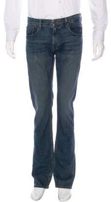 Paige Five-Pocket Straight-Leg Jeans