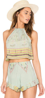 Cleobella Blues Top in Green $89 thestylecure.com