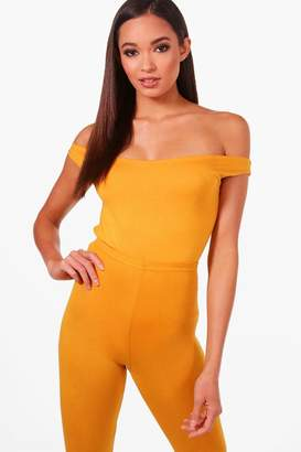 boohoo Tall Off The Shoulder Basic Body