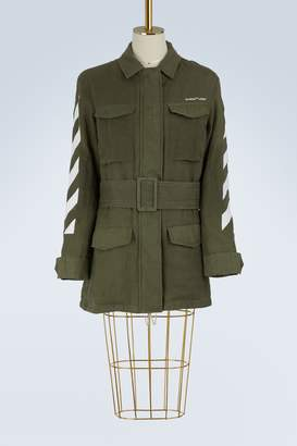 Off-White Off White Diag Field military jacket