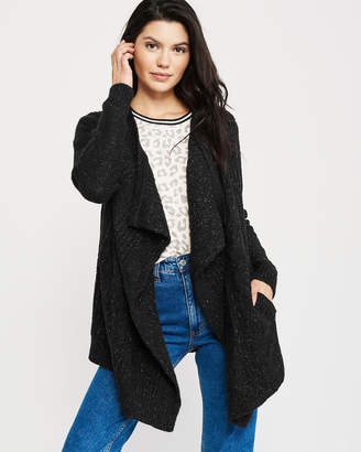 Abercrombie & Fitch Open Front Blanket Cardigan