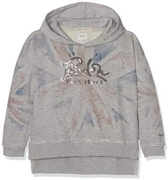Pepe Jeans Girl's Pg580616 Hooded Sweatshirt,(Manufacturer Size: 12)