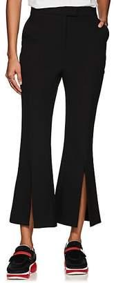 Robert Rodriguez Women's Eva Crop Flared Ponte Trousers - Black