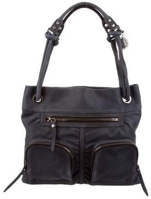 Lanvin Suede Shoulder Bag