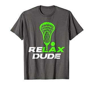 LaCrosse ReLAX Dude Stick Head LAX T-Shirt v6 | Green