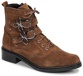 Regard ROADIL V3 CRTE VEL SILKY women's Mid Boots in Brown